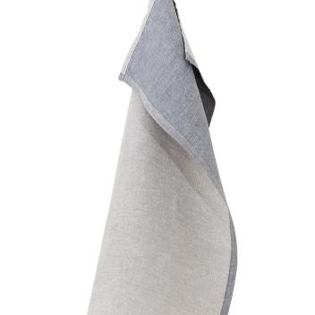 Ścierka kuchenna DUO 48x70 cm Lniano-Szara