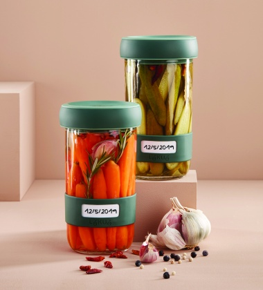 Zestaw słoików do kiszenia KIMCHI - PICKLES Kit 0,7L Set 2