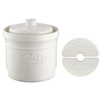 Naczynie ceramiczne do kiszenia 8L CERAMIC FERMENTATION PICKLING SET by Kilner