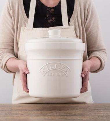 Naczynie ceramiczne z kamieniami do kiszenia KIL 8 L by Kilner