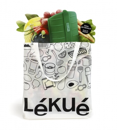 Zestaw zakupowy ZERO WASTE Green Shopper Kit by Lekue