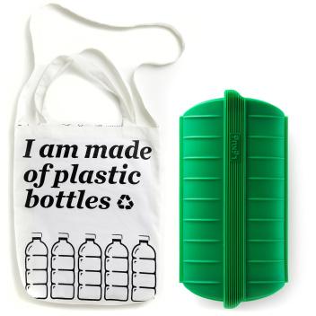 Zestaw zakupowy ZERO WASTE Green Shopper Kit by Lekue