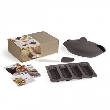 Zestaw do wypieku chleba i bagietek BREAD MAKER SET by Lekue