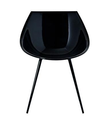 Krzesło Lago Chair Czarne