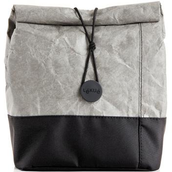 Torba lunchowa termiczna LUNCH BAG TO GO Grey by Lekue
