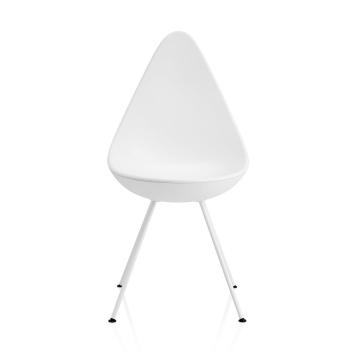 Krzesło DROP Plastic Chair 3110 Arne Jacobsen Białe
