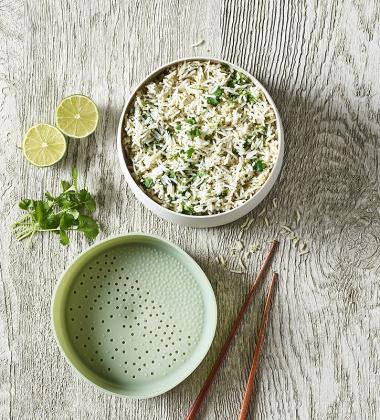 Naczynie do gotowania kaszy i ryżu QUICK QUINOA & RICE COOKER 1L by Lekue