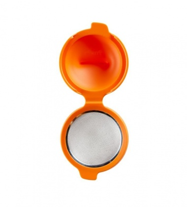 Foremka do jajek w koszulce EGG POACHER ORANGE by Lekue