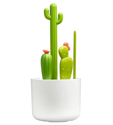 Zestaw szczotek do mycia butelek kaktusy CACTI BRUSH SET by Boon