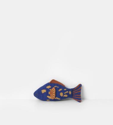 Poduszka Przytulanka 28x14 FRUITICANA LEOPARD FISH