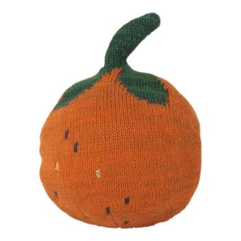 Grzechotka pomarańcza FRUITICANA ORANGE ROLY POLY 14 cm