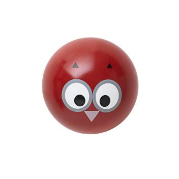 Wieszak ścienny sowa OWL HOOK 5,5 cm Czerwony