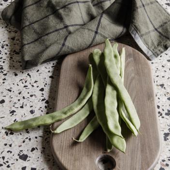 Ścierka kuchenna HALE Tea Towel Zielono-Czarna