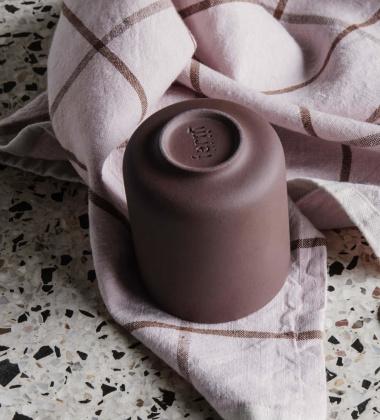 Ścierka kuchenna HALE Tea Towel Różowo-Rdzawa