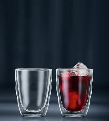 Zestaw szklanek do kawy i herbaty PILATUS 250 ml Set 2
