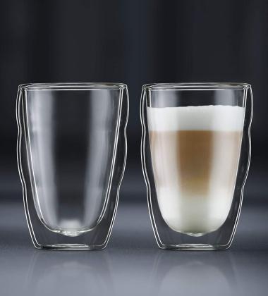 Zestaw szklanek do latte i drinków PILATUS 350 ml Set 2