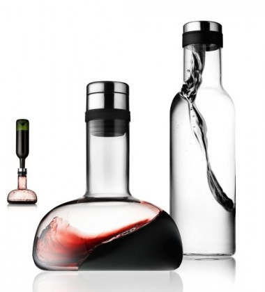 Wine Breather and Bottle Set