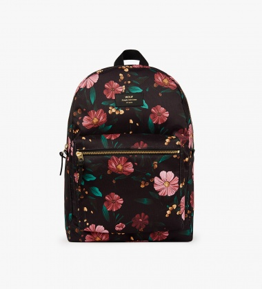 Plecak BLACK FLOWERS Backpack