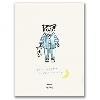 Poster 30x40 SLEEP TIGHT by Mado