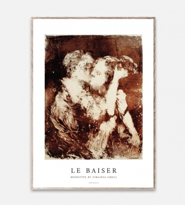 Poster 50x70 LA BAISER by Virginia Isbell