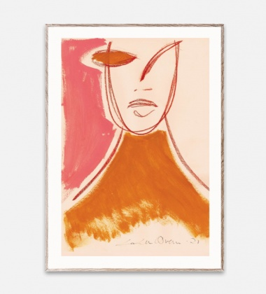 Poster 50x70 PINK PORTRAIT by Loulou Avenue