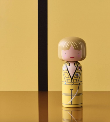 Laleczka Kokeshi 14,5 cm THE BRIDE - Kill Bill