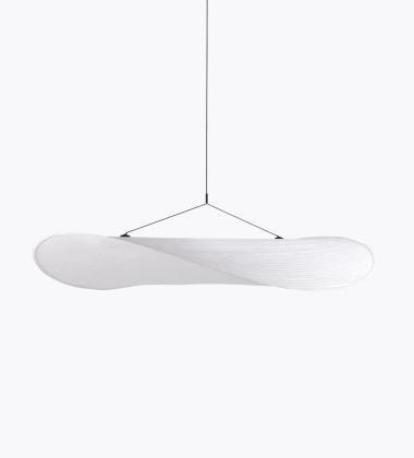 Lampa wisząca TENSE 120 cm Biała