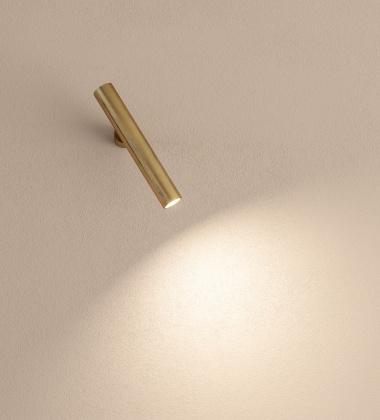 Lampa ścienna regulowana EGO by Axo Light Brass