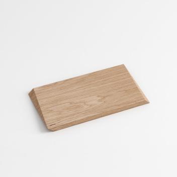 Deska do krojenia i serwowania CUTTING BOARD 33x18,5 cm Dąb