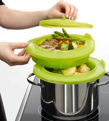 Zestaw do gotowania na parze H24 cm by Lekue
