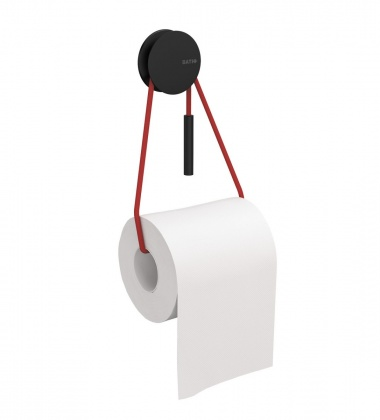 Wieszak na papier DIABLO PAPER HOLDER Black-Red