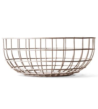 Kosz Norm Wire Bowl 25 cm Różowy