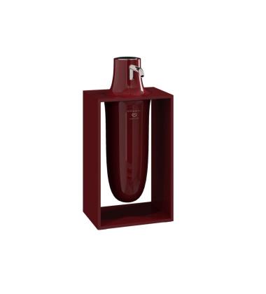 Dozownik do mydła INSIDE 10,2x7,5x21 Ruby Red