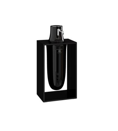 Dozownik do mydła INSIDE 10,2x7,5x21 Glossy Black