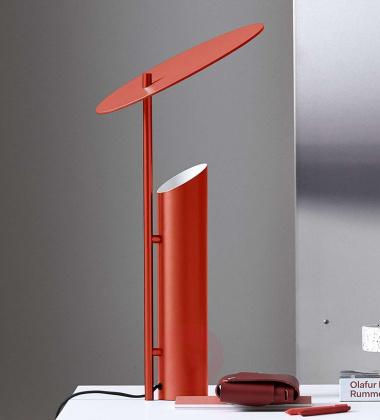 Lampa stołowa REFLECT 30xH60 Czerwona