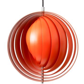 Lampa wisząca MOON 34 cm Pomarańczowa