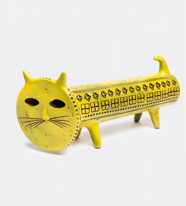 Figura kota CAT FIGURE Rimini H16 cm Żółty