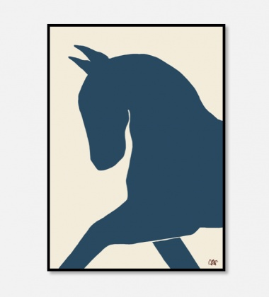 Poster 50x70 DRESSAGE by Anna Morner