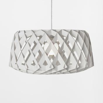 Lampa wisząca Pilke 60 cm Biała