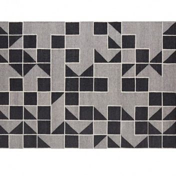 Kilim wełniany MODICA GREY 151x203 by Maria Mengual
