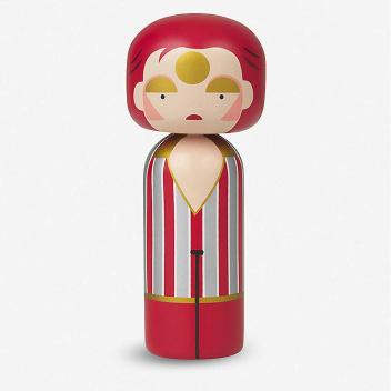 Laleczka Kokeshi ZIGGY STARDUST 14,5 cm David Bowie