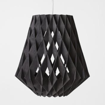 Lampa wisząca Pilke 36 cm Czarna