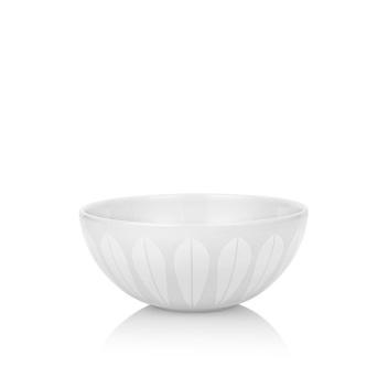 Miska z porcelany Lotus 21 cm Biały Mat