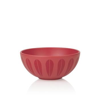 Miska z porcelany Lotus 21 cm Czerwony Mat