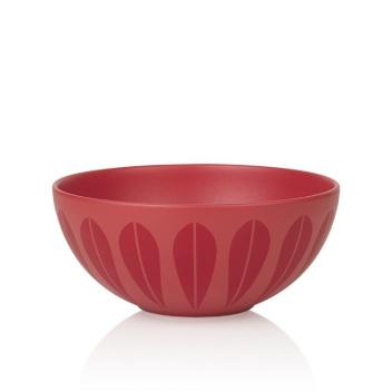 Miska z porcelany Lotus 28 cm Czerwony Mat