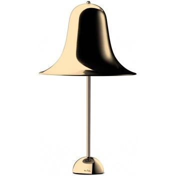 Lampa stołowa Pantop 30 cm Mosiądz Połysk