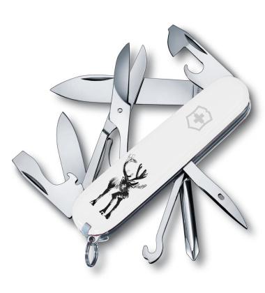 Scyzoryk renifer 91 mm Victorinox Pocket Tool x Teemu Jarvi RAINDEER