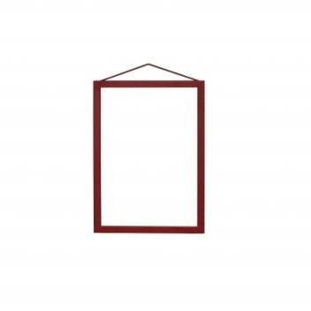 Ramka wisząca A4 Frame 32x23 cm Czerwone Aluminium