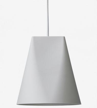 Lampa wisząca ceramiczna CERAMIC PENDANT WIDE 23,5x23 LIGHT GREY