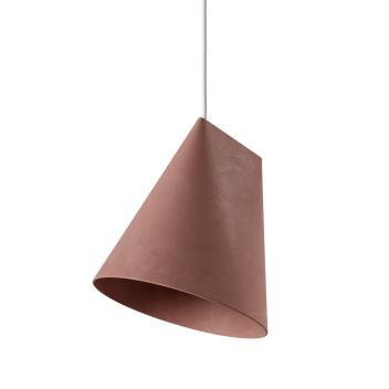 Lampa wisząca ceramiczna CERAMIC PENDANT WIDE 23,5x23 TERRACOTTA